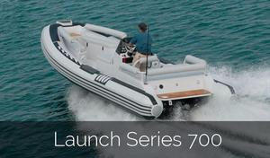 New Novurania Launch Series 700 Tender Boat For Sale
