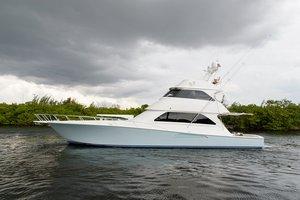 Used Viking Skybridge Sports Fishing Boat For Sale
