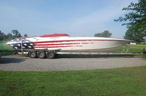Used Fountain 42 Lightning Express Cruiser Boat For Sale