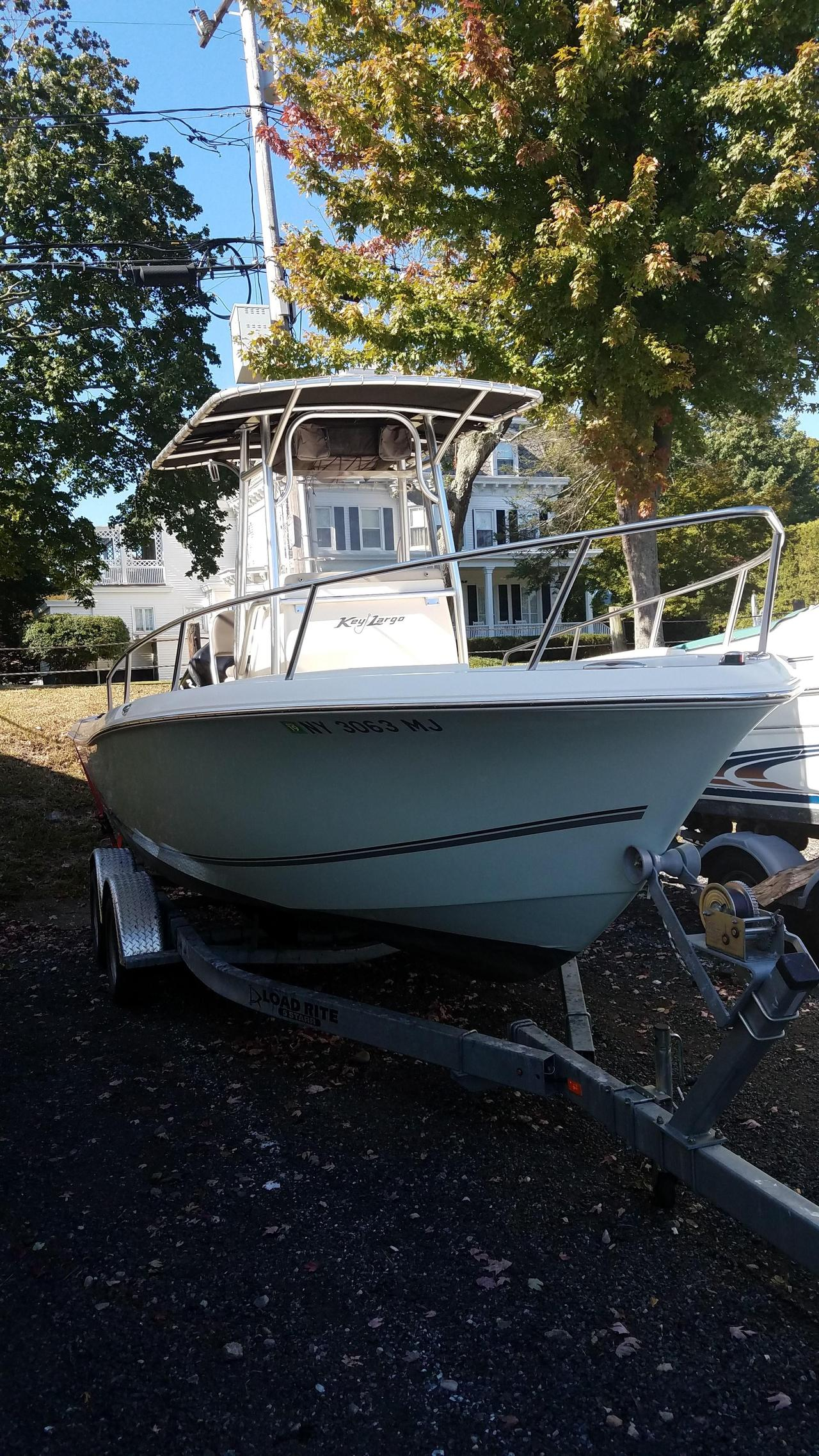 2013 used key largo 210 wi center console fishing boat for for Used fishing boats for sale in wisconsin