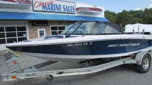 Used Correct Craft Ski 200 Open Bow Ski and Wakeboard Boat For Sale