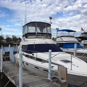 Used Bayliner 3460 Trophy Sports Fishing Boat For Sale