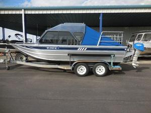Used Weldcraft 20' w/HT Aluminum Fishing Boat For Sale