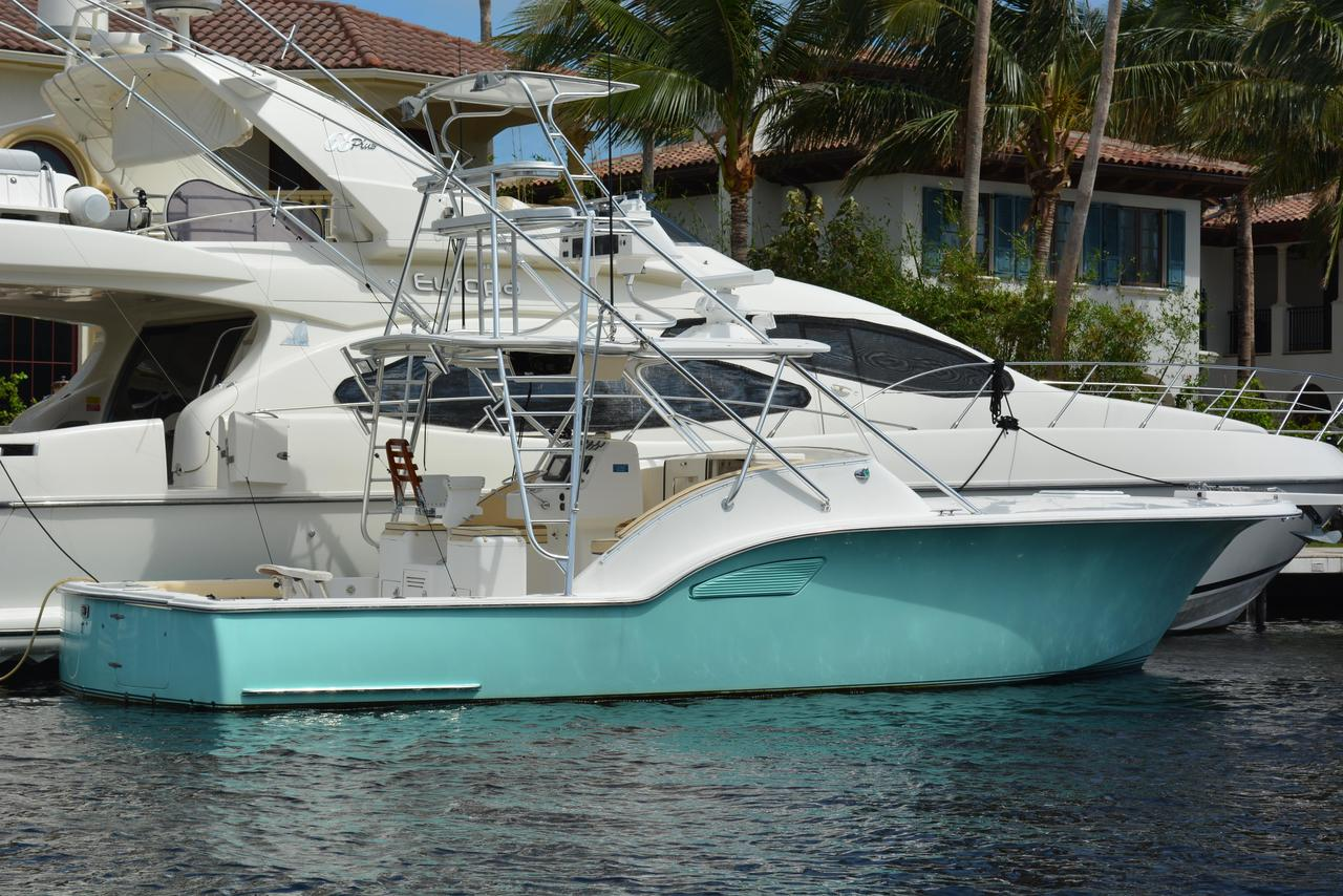 2003 used out island sport fish sports fishing boat for for Sport fishing boats for sale by owner
