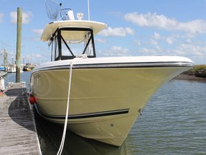 Used Triton 351CC Center Console Fishing Boat For Sale