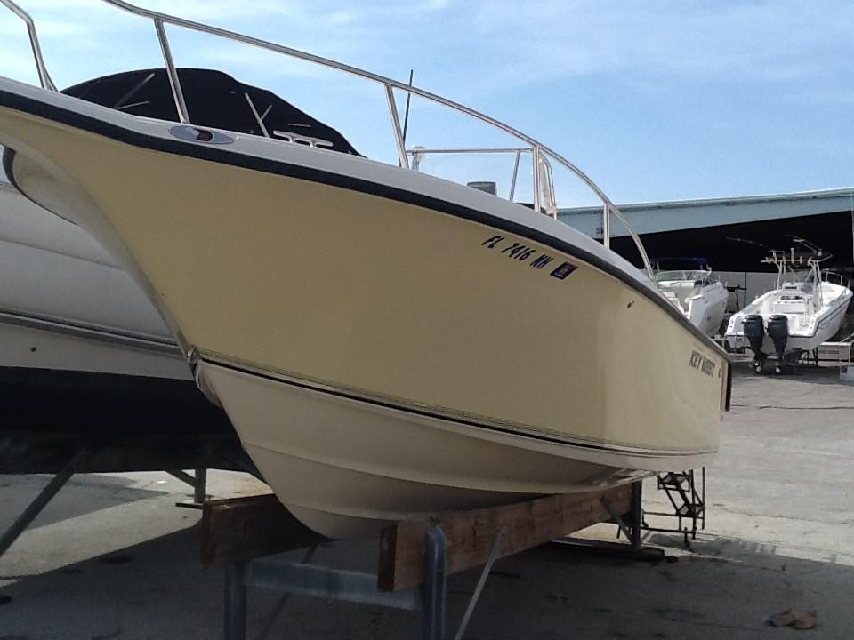 2005 used key west 225 center console sports fishing boat for Center console fishing boats for sale