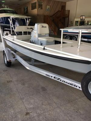 Used Maverick 17 HPX-V Flats Fishing Boat For Sale