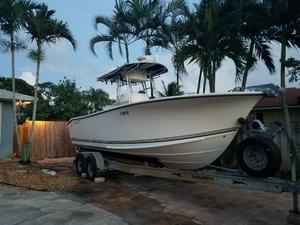 Used Kencraft Challenger 235 Center Console Fishing Boat For Sale