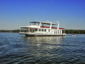 Used Lakeview 81 Wide Body House Boat For Sale