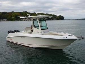 Used Boston Whaler 250 Outrage Saltwater Fishing Boat For Sale