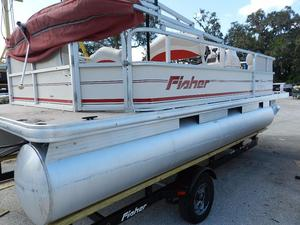 Used Fisher 180 Fish Pontoon Boat For Sale