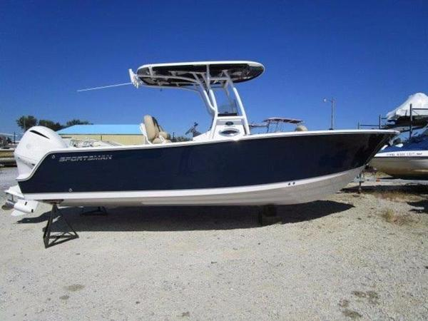 New Sportsman Open 241 Center Console Fishing Boat For Sale