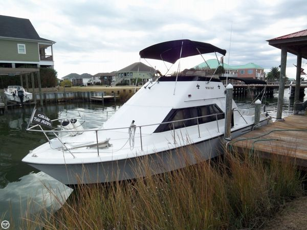Used Hatteras 31 Sportfish Flybridge Sports Fishing Boat For Sale