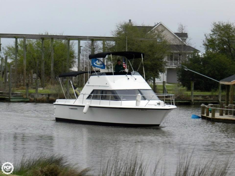 1975 used hatteras 31 sportfish flybridge sports fishing for Used sport fishing boats for sale