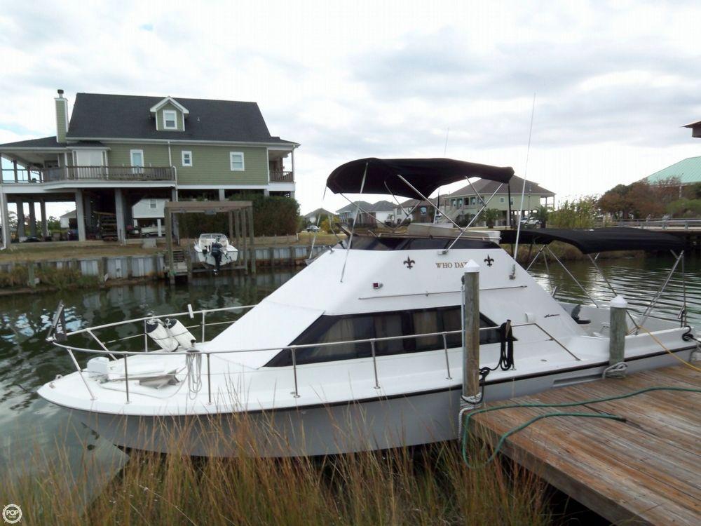 1975 used hatteras 31 sportfish flybridge sports fishing for Sport fishing boats for sale