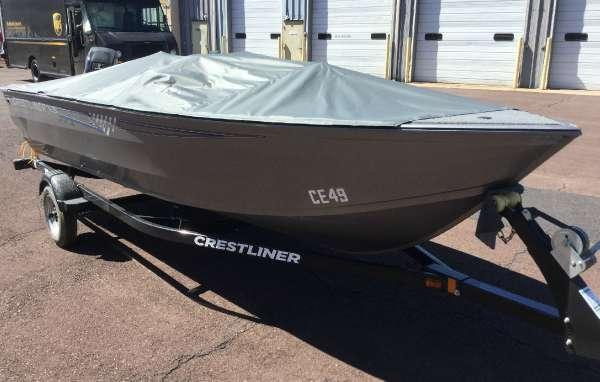 New Crestliner 1650 Discovery SC Freshwater Fishing Boat For Sale
