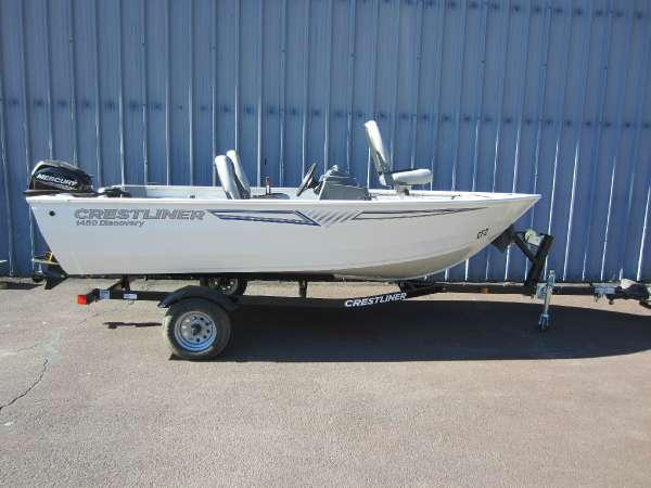 New Crestliner 1450 Discovery Freshwater Fishing Boat For Sale