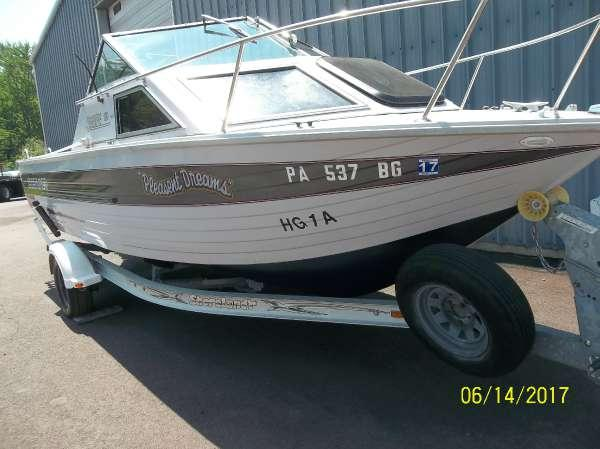 Used Crestliner 216 Aft Cabin Boat For Sale
