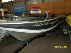Used Smoker Craft Big Fisherman 14 Freshwater Fishing Boat For Sale