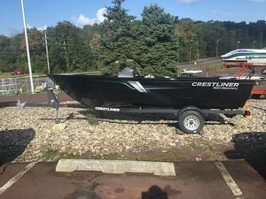 New Crestliner 1650 Discovery Side Console1650 Discovery Side Console Freshwater Fishing Boat For Sale