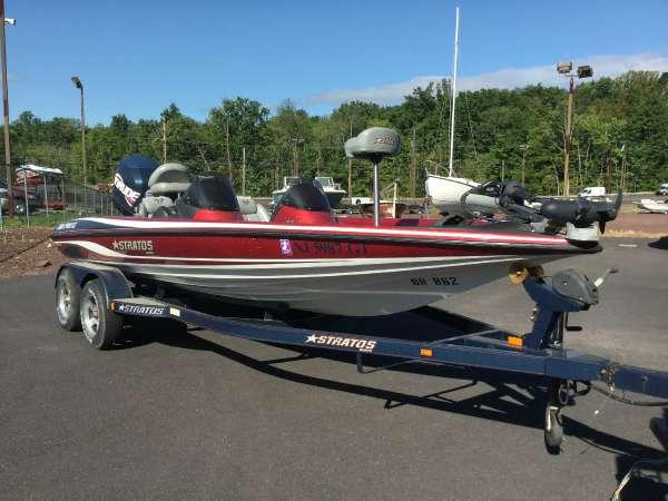 2004 used stratos 200 pro xl dc bass boat for sale. Black Bedroom Furniture Sets. Home Design Ideas