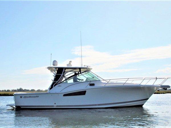 Used Wellcraft 360 Coastal Cruiser Boat For Sale