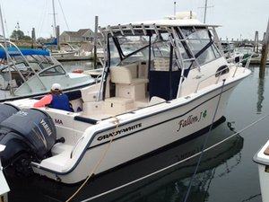 Used Grady White Marlin Walkaround Fishing Boat For Sale
