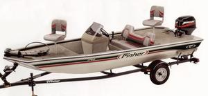 Used Fisher 1700 Bass Boat For Sale