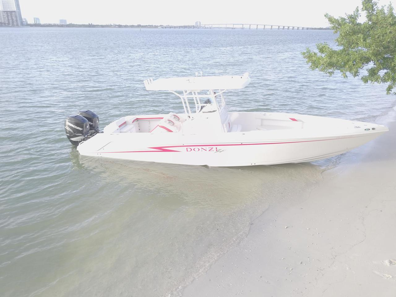 2009 used donzi 35 zf open saltwater fishing boat for sale for Donzi fishing boats