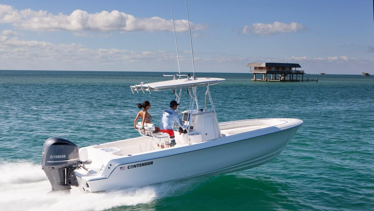 2018 new contender 24 sport center console fishing boat for Center console sport fishing boats