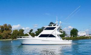 Used Viking 58 Enclosed Flybridge CATS, PAINTED Convertible Fishing Boat For Sale