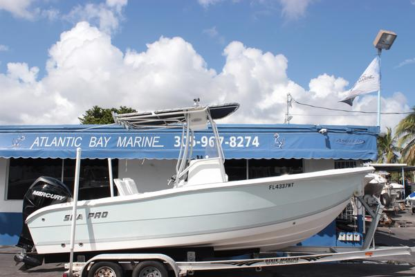 Used Sea Pro 206 Center Console Saltwater Fishing Boat For Sale