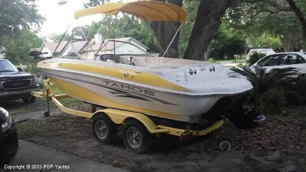 2006 Used Tracker 21 Q6 Tahoe Fish And Ski Bowrider Boat For Sale 16 000 Crestview Fl