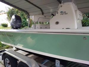 Used Key West 210 Bay Reef Saltwater Fishing Boat For Sale
