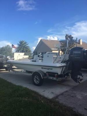 Used Ranger Ghost 183 Skiff Boat For Sale