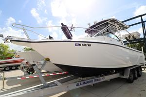 Used Century 3000 Sport Cabin Saltwater Fishing Boat For Sale
