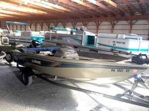 Used Lowe FM165 Sports Fishing Boat For Sale