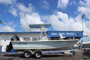 Used Sea Pro 210 Center Console Saltwater Fishing Boat For Sale
