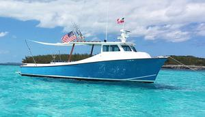 Used Custom Deadrise Saltwater Fishing Boat For Sale