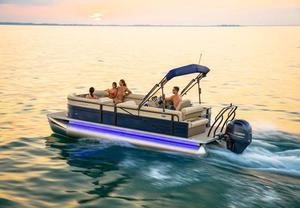 New Crest II 230 Pontoon Boat For Sale