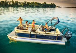 New Crest II 250 SLS Pontoon Boat For Sale