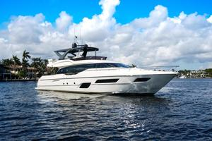 Used Ferretti Yachts 700 Flybridge Boat For Sale