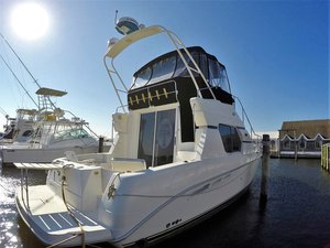 Used Silverton 351 Sedan Cruiser Flybridge Boat For Sale
