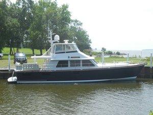 Used Lyman Morse Boat Co. Sedan Bridge Express Cruiser Boat For Sale