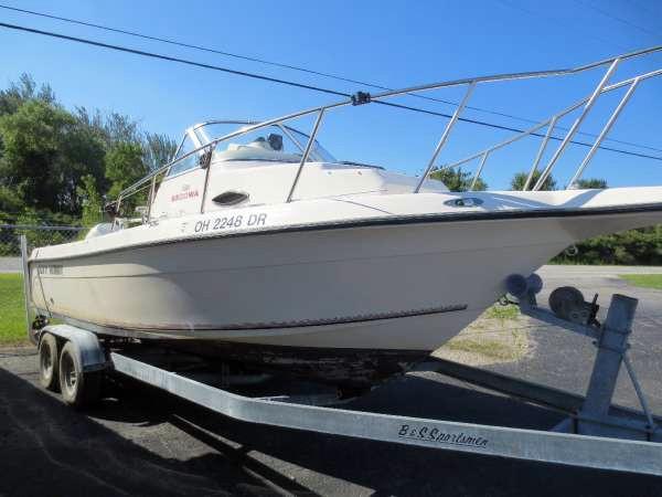 Used Key West 2300 WAC Walkaround Fishing Boat For Sale