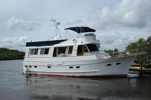 Used Marine Trader Wide Body Trawler Boat For Sale