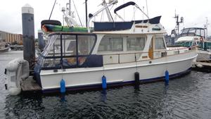 Used Grand Banks Fiberglass Europa With Twins Cruiser Boat For Sale