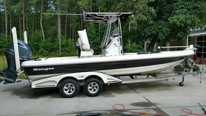 Used Ranger 2410 Bay Boat Saltwater Fishing Boat For Sale