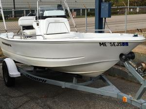 Used Triumph 15' CC Center Console Fishing Boat For Sale