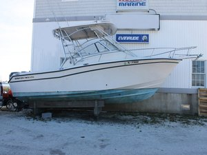 Used Grady White Express Walkaround Fishing Boat For Sale